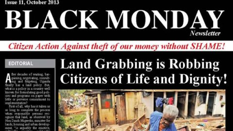 Land grabbing is Robbing Citizens of Life and Dignity!