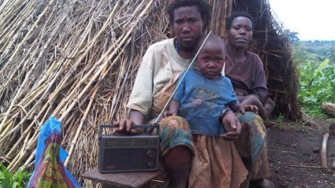 UW Photo:evicted without compensation from her home by security forces in Mubende district, this woman found a new home