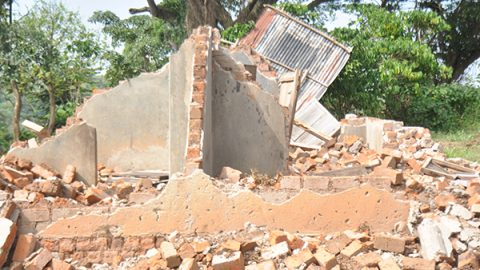 Evicted residents of Bunjako decry torture by security officers.