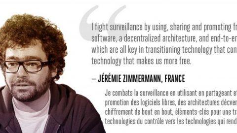I fight surveillance