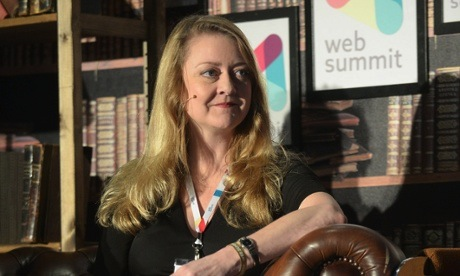 MI5 whistleblower Annie Machon. Photograph: Web Summit