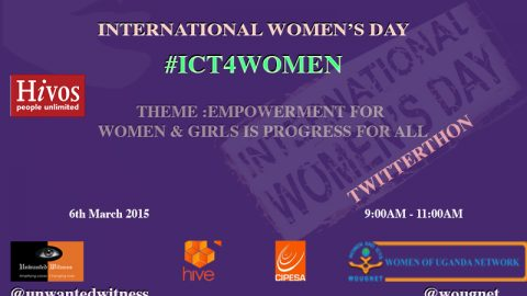 #InternationalWomensDay2015 #ICT4WOMEN