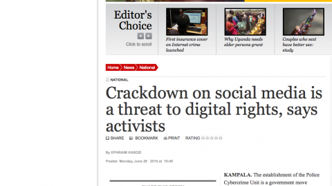 Crackdown on social media is a threat to digital rights, says activists