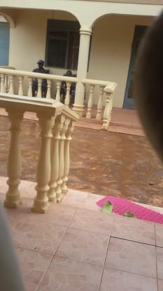 Armed Police Men camping at Rwomushana's home