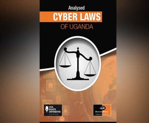 The Cover page of the New Cyber Laws analysis report by UW & CRD