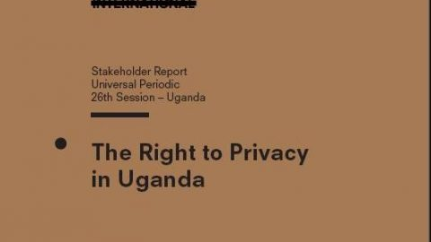 The Right to Privacy in Uganda