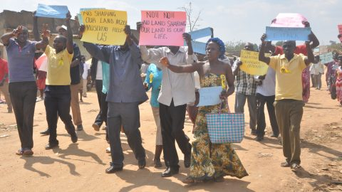 Bloodshed as Residents of Kyegegwa Protest Government Eviction.
