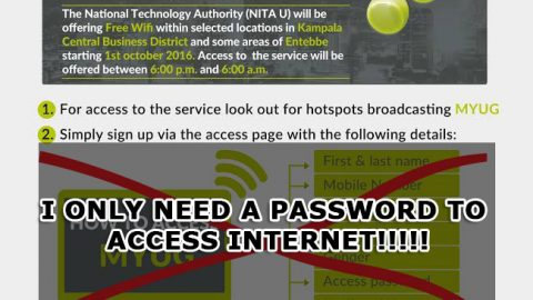 Free Internet in Kampala & Entebbe could be a move to target government critics