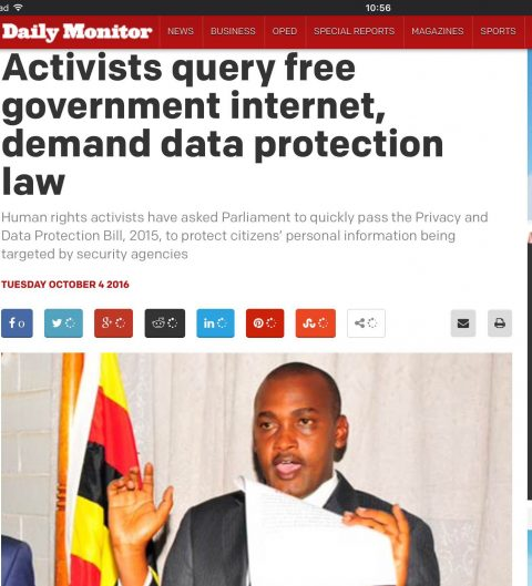 Activists query free government internet, demand data protection law