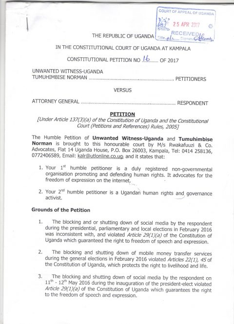 Uganda Communications Commission Act