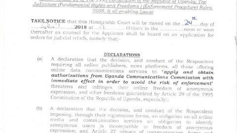 Online Publishers Petition