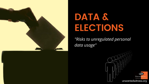 Risks to unregulated personal data use and what stakeholders must-do during the 2020/21 electoral process.