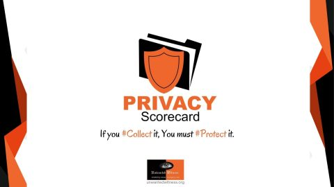 The Inaugural Annual Privacy Scorecard Unveiled
