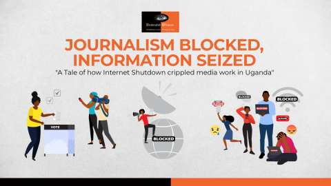 Report Launch: Journalism Blocked, Information Seized